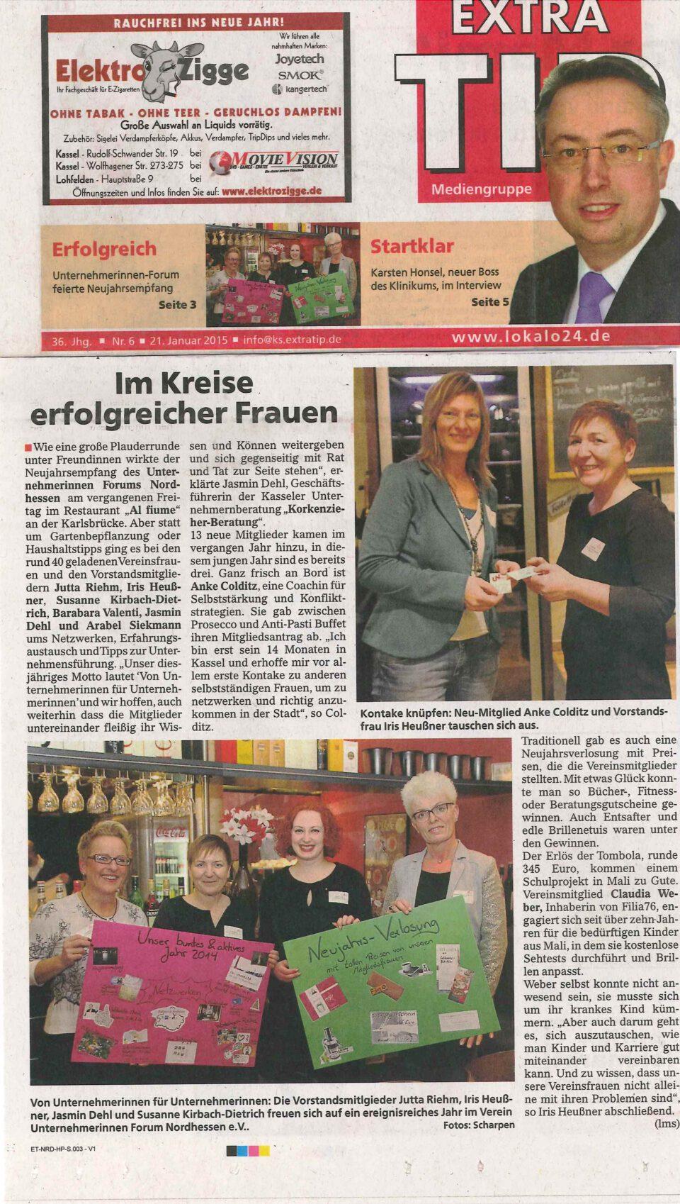Ehrenamtliches Engagement für Unternehmerinnen in Nordhessen